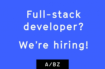 Gezocht: Full Stack Developer & Service Designer